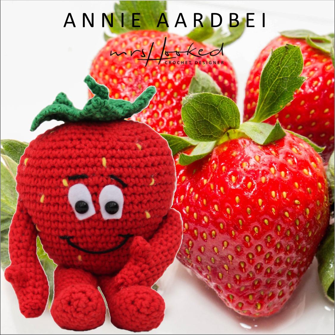 Vitamini Annie Aardbei Gehaakt Fruit Groente Vriendjes Van De Lidl