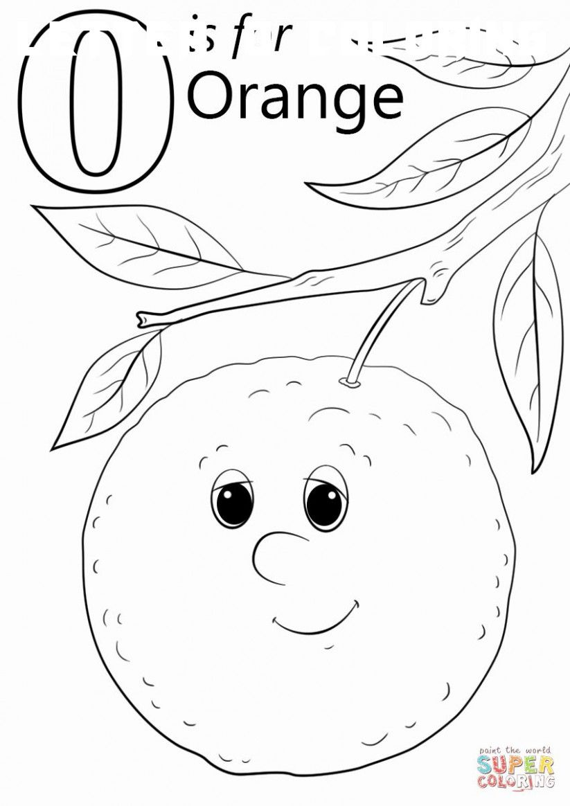 6 Letter O Coloring Sheet Abc Coloring Pages Preschool Coloring Pages Letter O Worksheets