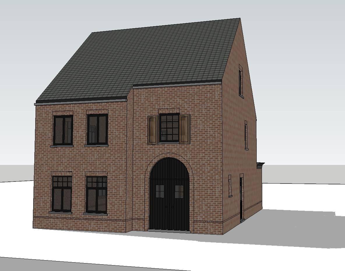 Afbeeldingsresultaat voor pastorij zwarte ramen landelijk wonen idee n exterieur pinterest - Huis exterieur picture ...