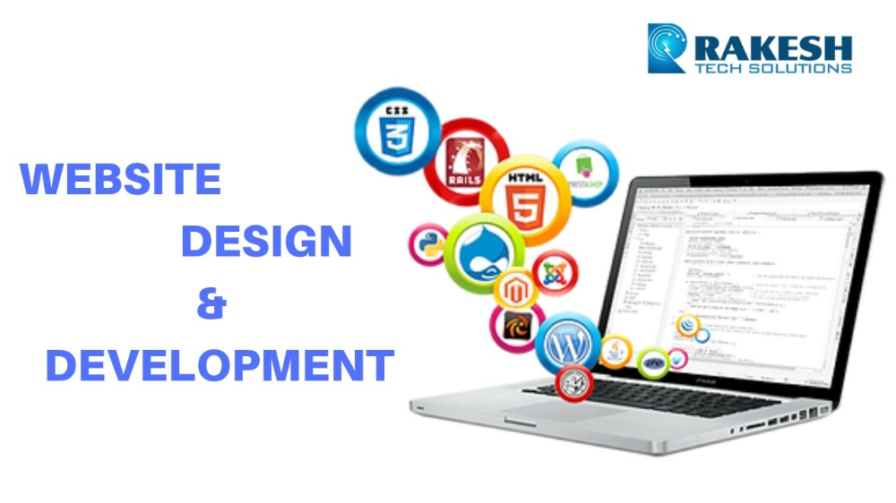Rakesh Tech Solutions Is A Creative Web Designing Companies With Professional We Companies Creative Designing Professional Rakesh Solutions En 2020 Profe