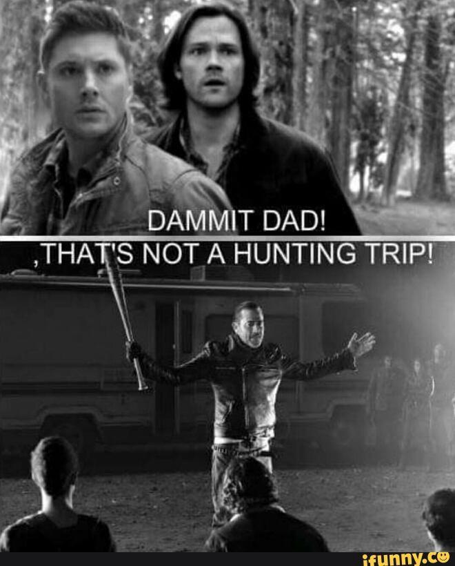 Negan Supernatural
