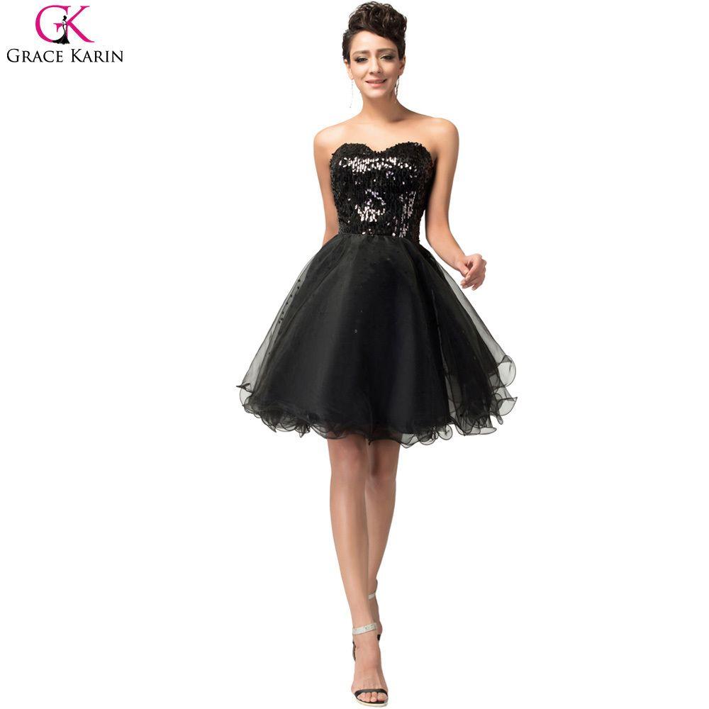 Black sparkly party dresses color dress pinterest