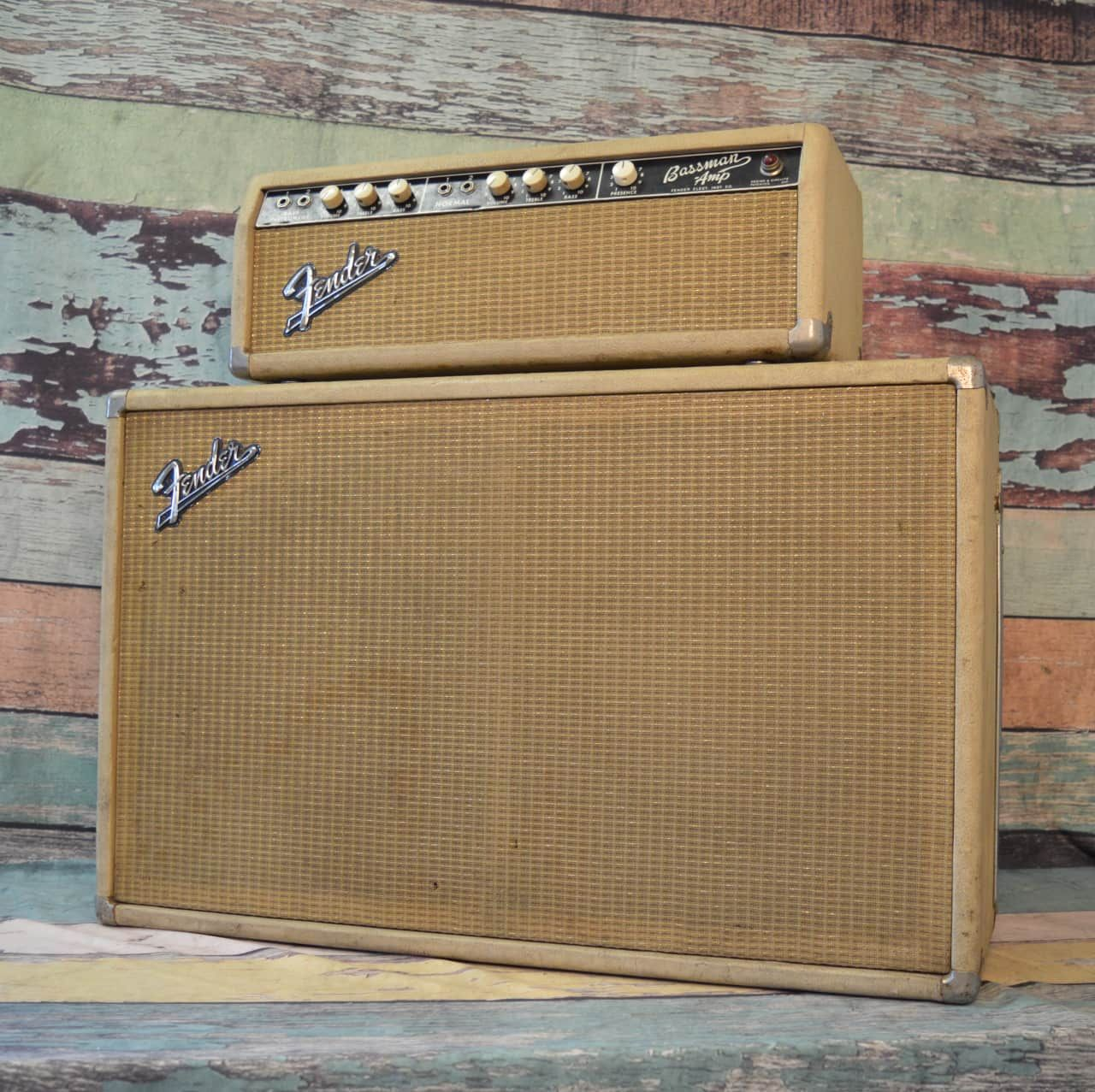fender vintage bassman cabinet guitars cover stang products with