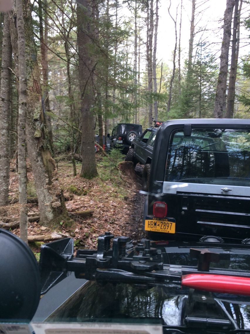 Our fun day at the Tin Teepee off-road park in Brant Lake NY National Topless Day May 14th 2016 Jeep Wrangler ❤️ #JKJeepQueen #2016toplessatteepee