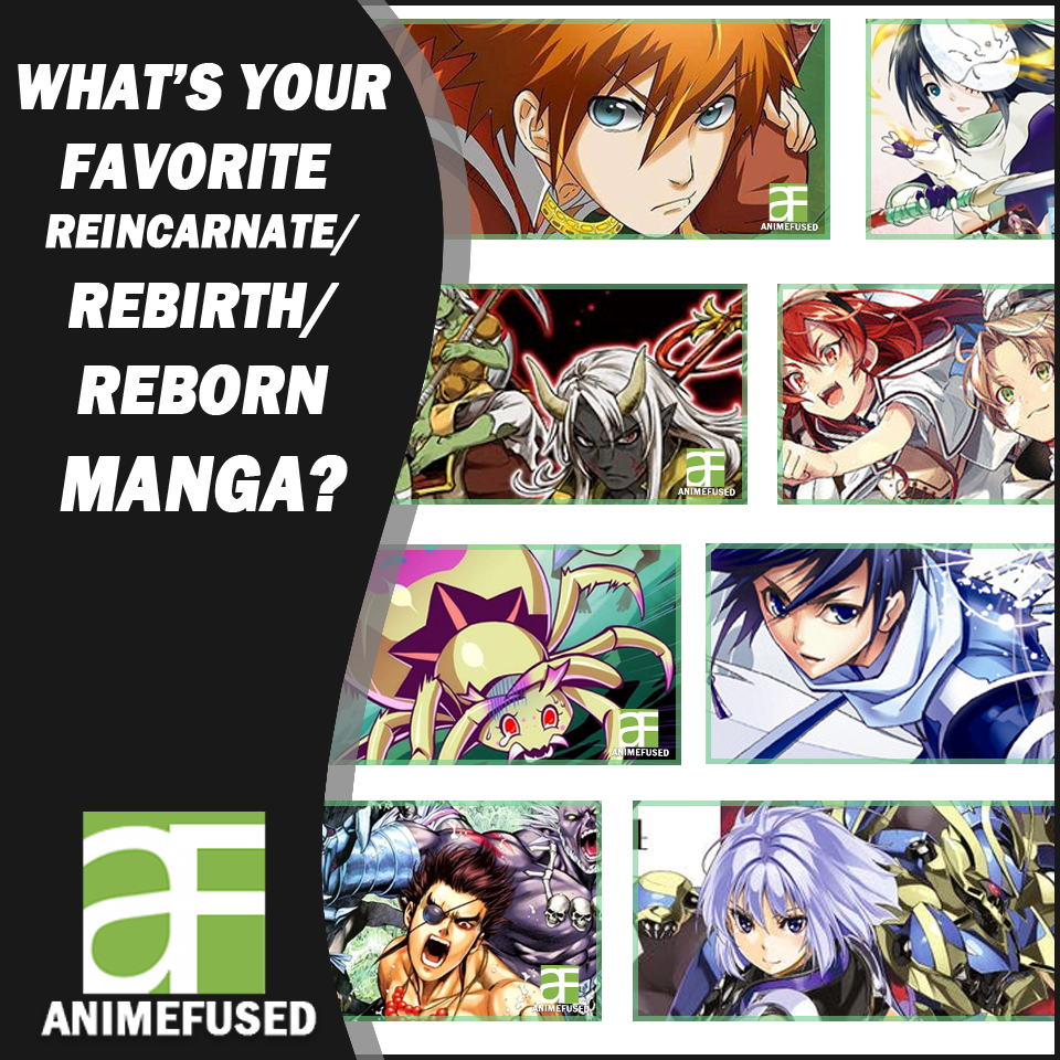 My top list of reincarnation rebirth genre manga