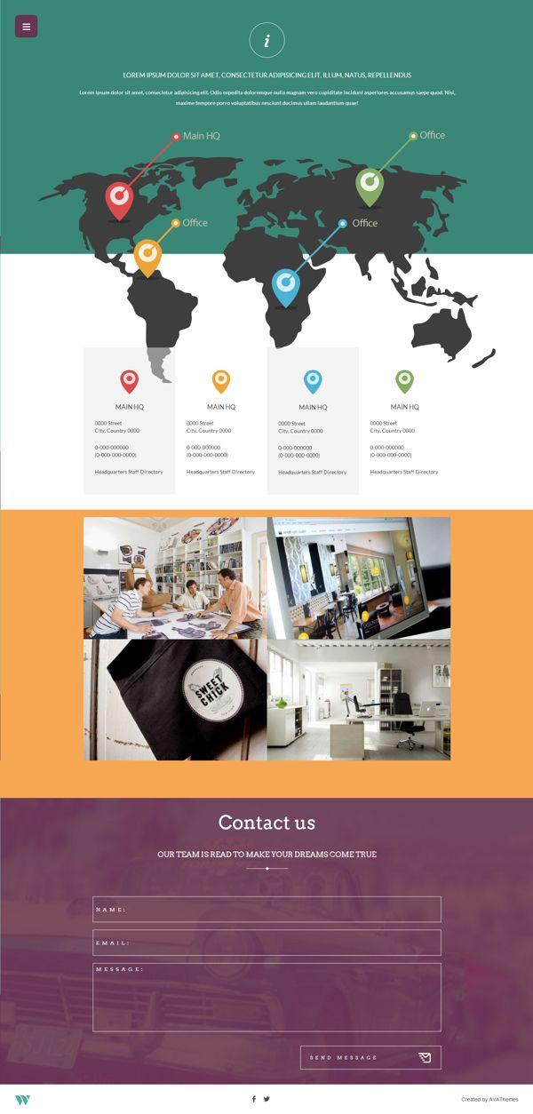 Wilder Flat One Page Responsive Wordpress Theme By Avathemes Via Behance Wordpress Website Design Wordpress Theme Responsive Web Design Company