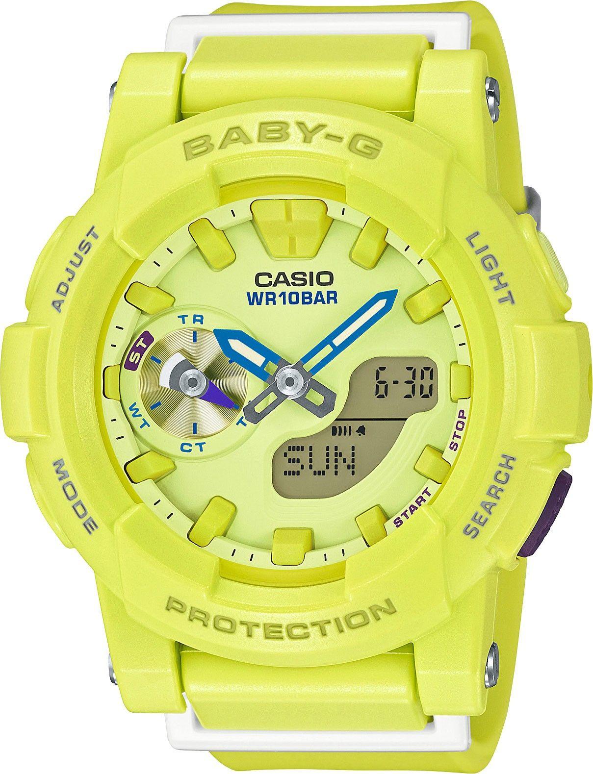 Zegarek Casio Baby G Quartz World Time Bga 185 9aer With Images