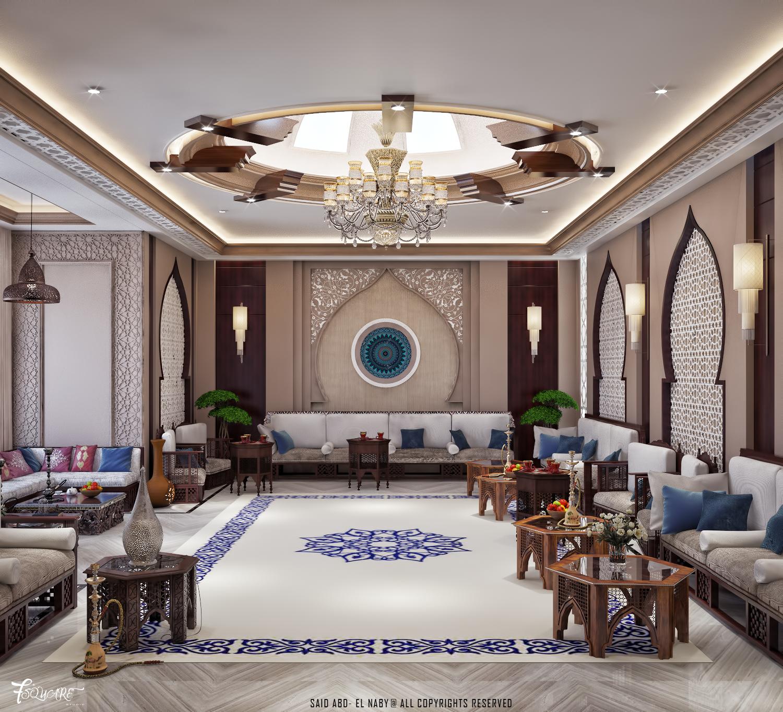 Arabic Majlis In Dubai Hotel Interior Design Interior Design