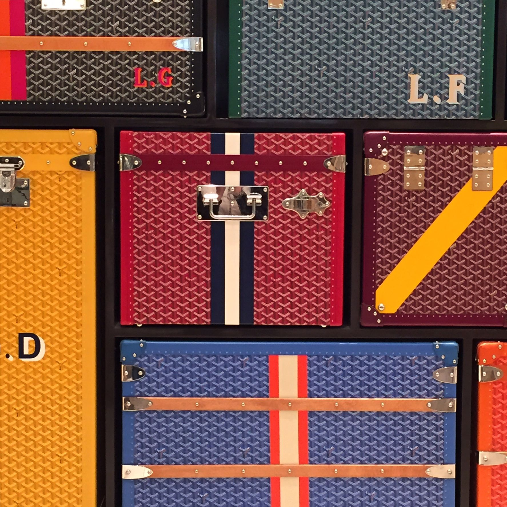 Goyard Take Me Away Punchutton In Neiman Marcus Beverly Hills