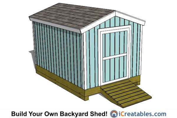 8x12 Shed Plans Buy Easy To Build Modern Shed Designs 8x12 Shed Plans Shed Design Backyard Storage Sheds