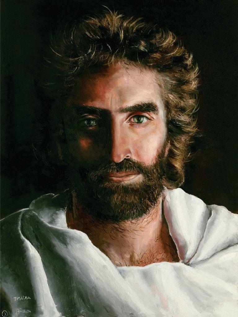 Resultado de imagem para rosto de Jesus de Akiane Kramarik