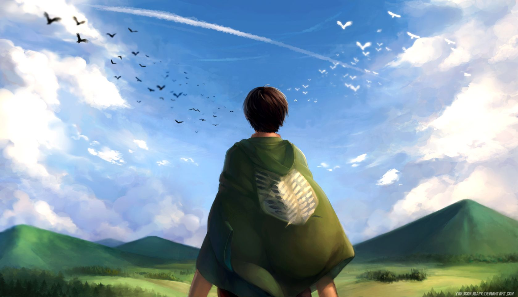 Feel The Freedom Computer Wallpapers Desktop Backgrounds 1680x964 Id 612508 Attack On Titan Anime Attack On Titan Anime Quotes