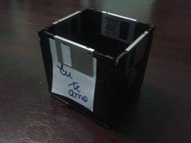 diy disquete box