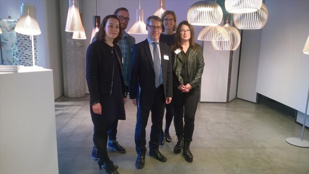 Skandinaavista huippumuotoilua Scandinavian Light & Design 2016 –tapahtumassa Zürichissä - Suomen suurlähetystö, Bern : Ajankohtaista