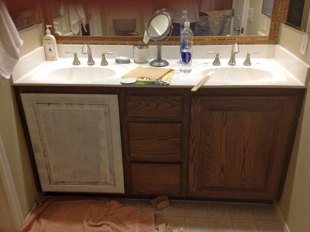 34++ White bathroom cabinet paint ideas