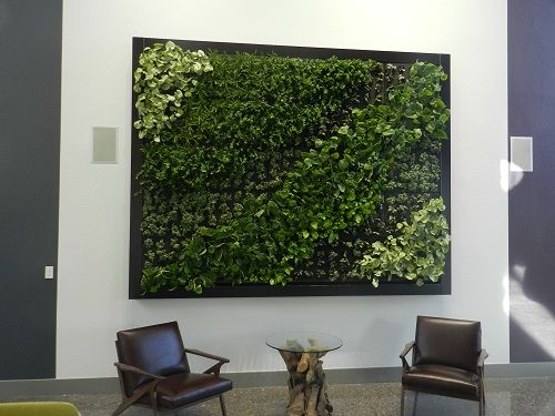 Get A Glimpse Six Cool Design Hotels In Asia Living Green Wall Green Wall Living Fence