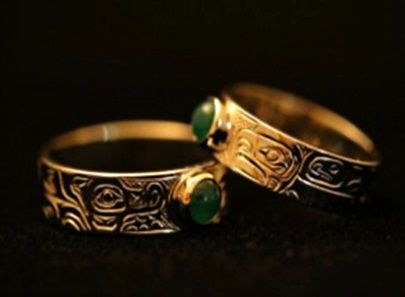 wedding ring traditions from around the world - Indian Wedding Rings