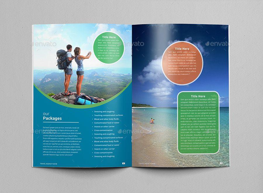 Travel Agency Brochure & Catalog Template Free brochure