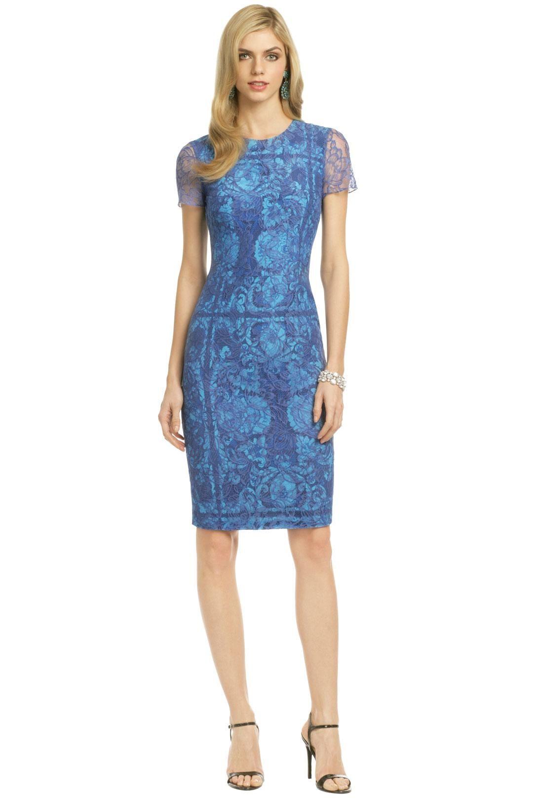 Vera Wang Tulum Waters Sheath Plus size vintage dresses