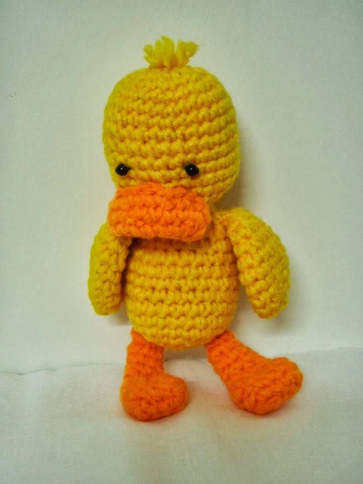 Free Crochet Patterns Amigurumi Duck Easter Crochet Pinterest