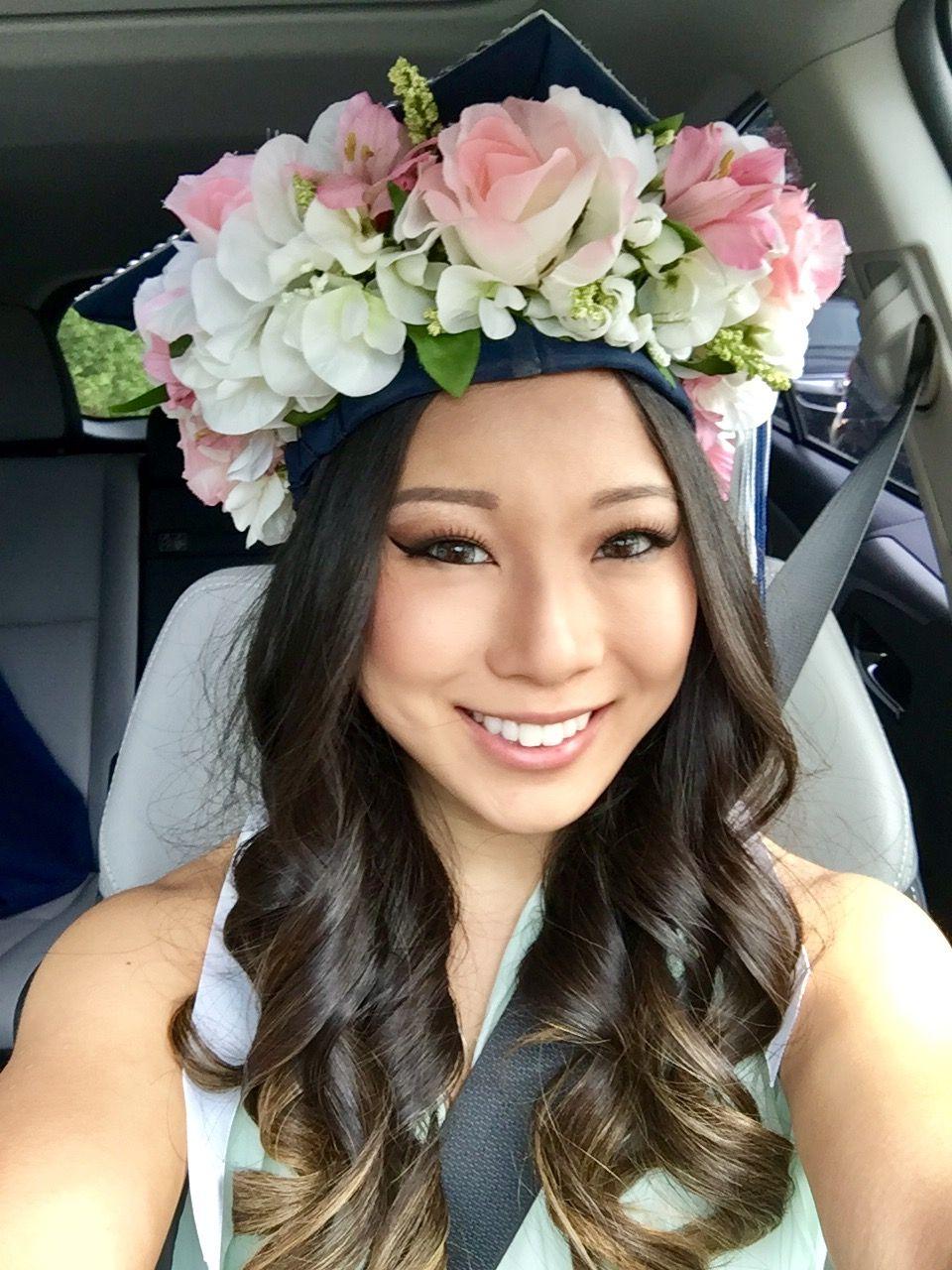 Graduation Graduationcap Flowercrown Graduation Pinterest