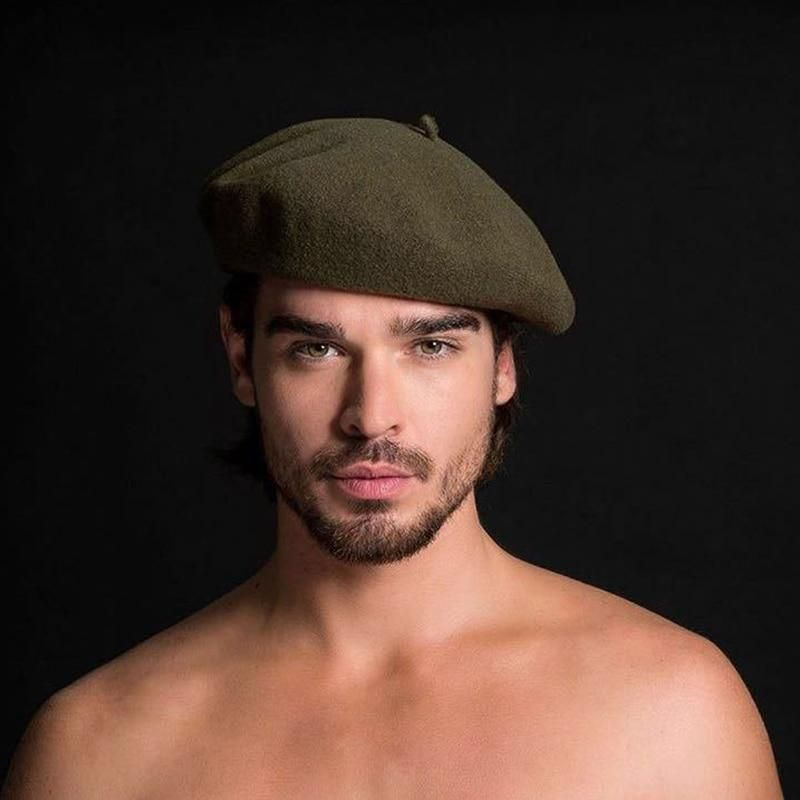 Men S Winter Wool Beret Octagon Hat French Artist Hat For Man Formal Wear Professional Casual Dual Use Painter Hats Men S Be Men Formal Mens Beret Hats For Men