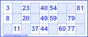 Generador De Cartones Cartones De Bingo Bingo Bingo Para Imprimir