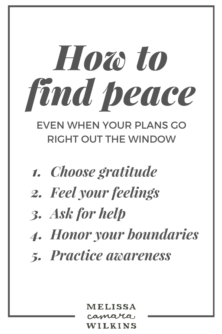5 Ways to Find Peace
