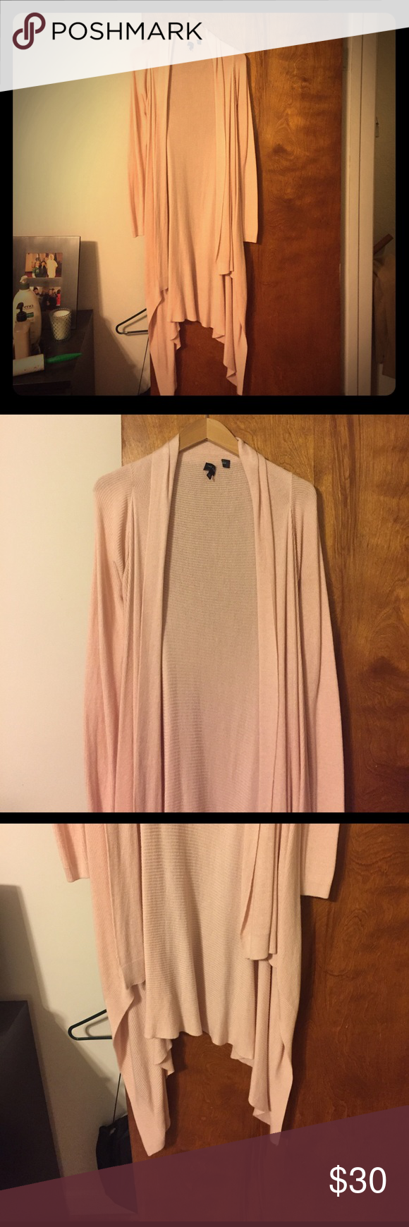 Limited long sweater   Light pink color, Long sweaters and ...