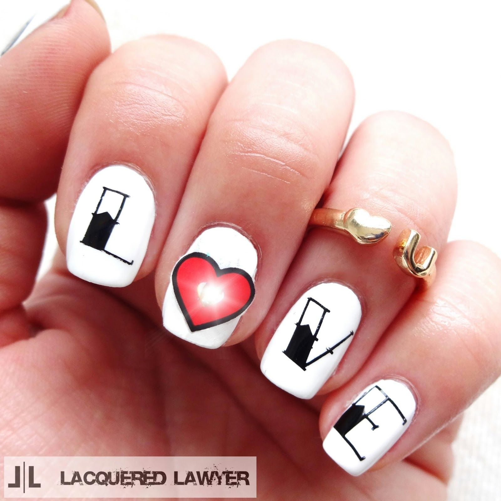 Nail Art Letters | Best Nail Designs 2018