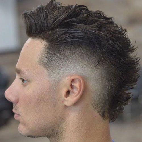 35 Best Faux Hawk Fohawk Haircuts For Men 2020 Styles Faux Hawk Hairstyles Fohawk Haircut Short Faux Hawk