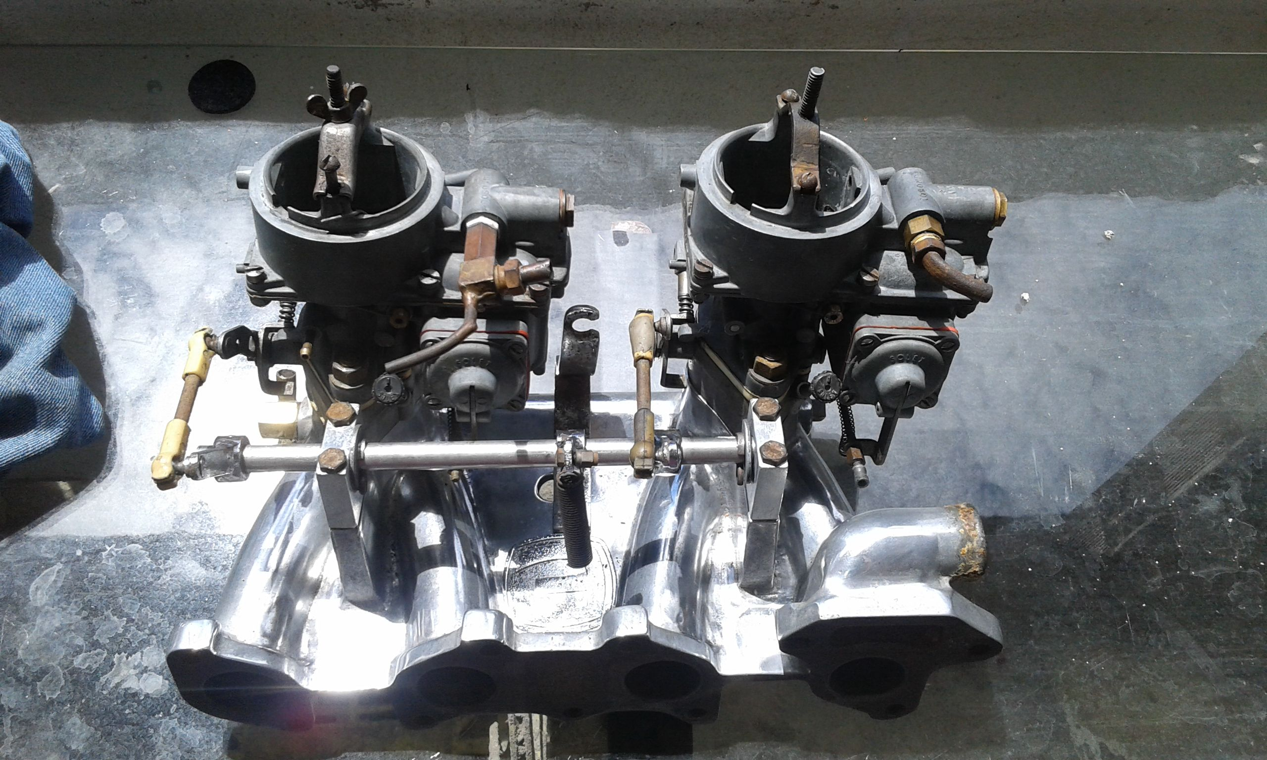 Dupla Carburacao Solex 40 Chevette Chevette Carros Legais Chevy