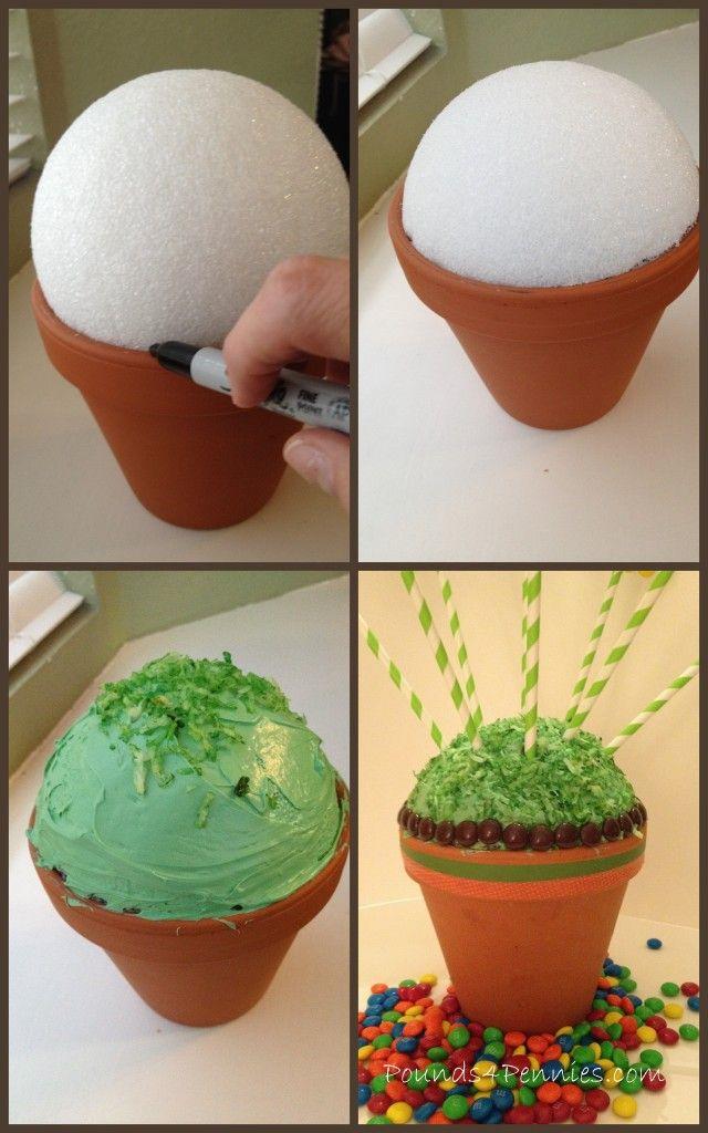 Baking With M&M\'s: Flower Cake Pops Bouquet | Cake pop, Flower cake ...