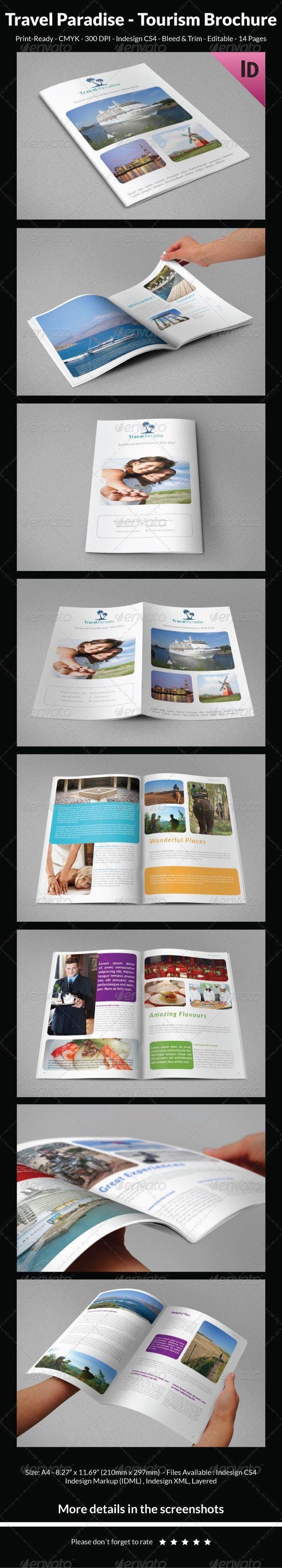 Travel Paradise - Tourism Brochure Travel Paradise - Tourism Brochure Tourism a tourism brochure