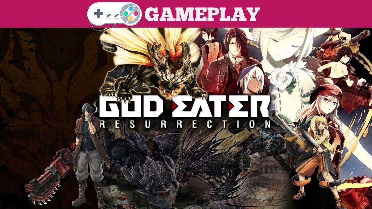 God Eater Resurrection Gameplay (Có hình ảnh) Hình ảnh