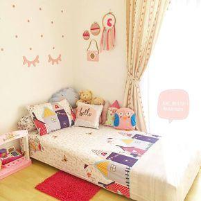 dekorasi kamar kecil anak perempuan simple keren terbaru