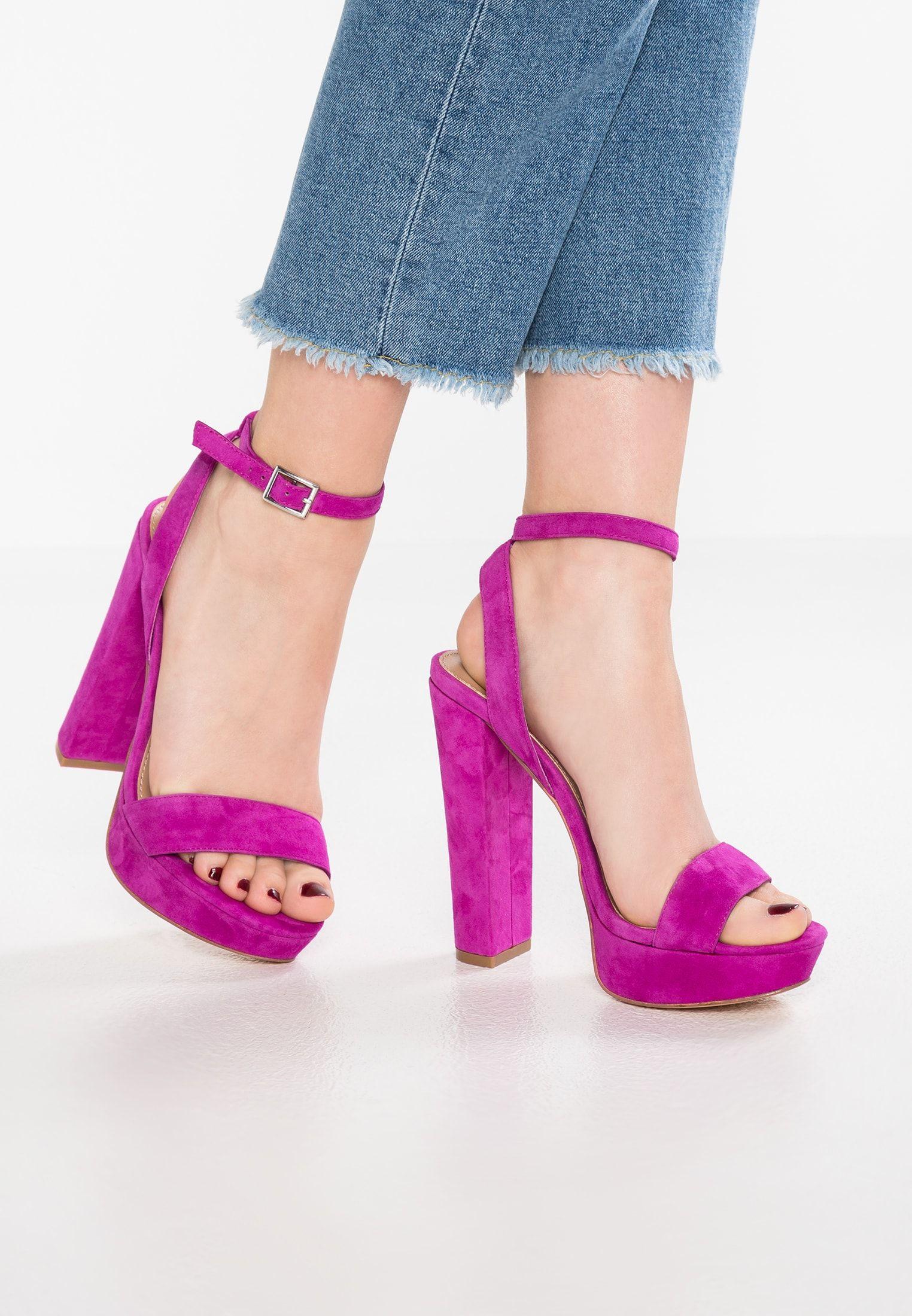 6200f40db1e Steve madden glow - high heeled sandals fuschia women shoes ...