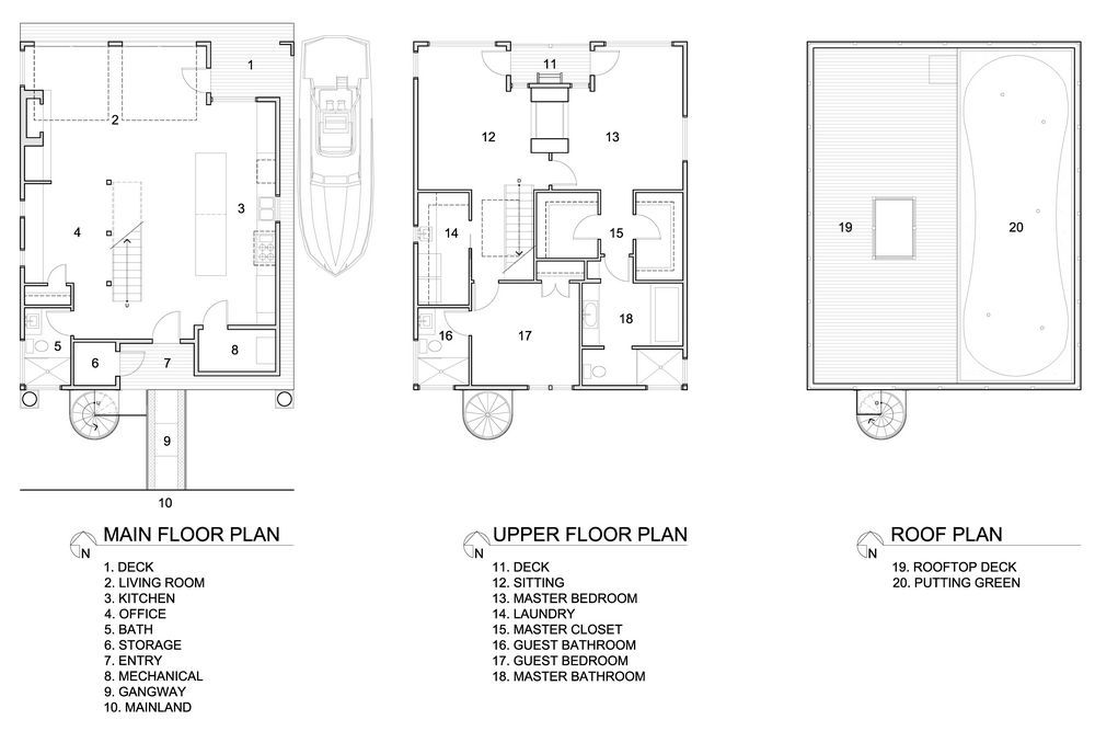 One Story Boathouse Design Plan Duck House Plans House Plans Boathouse Design