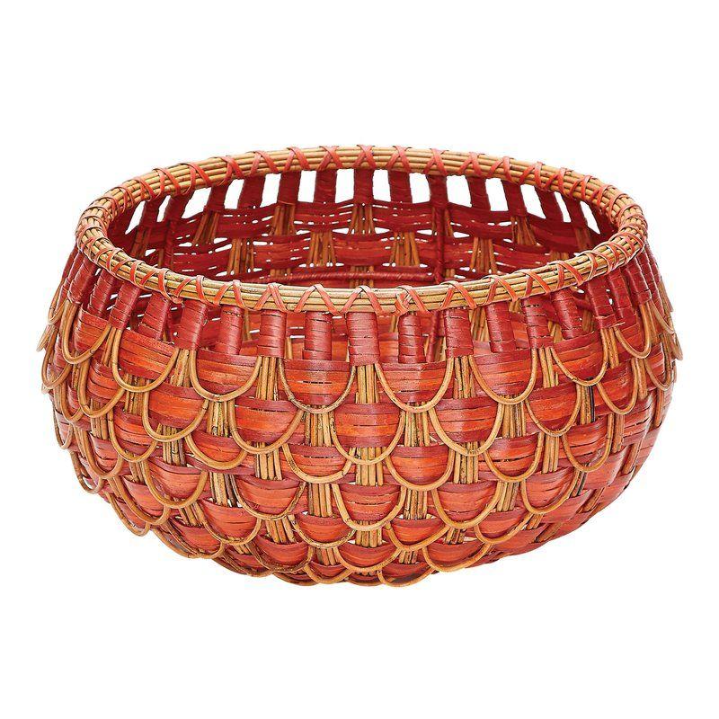 Gouverneur Rattan Wicker Basket Wicker Basket Basket Design