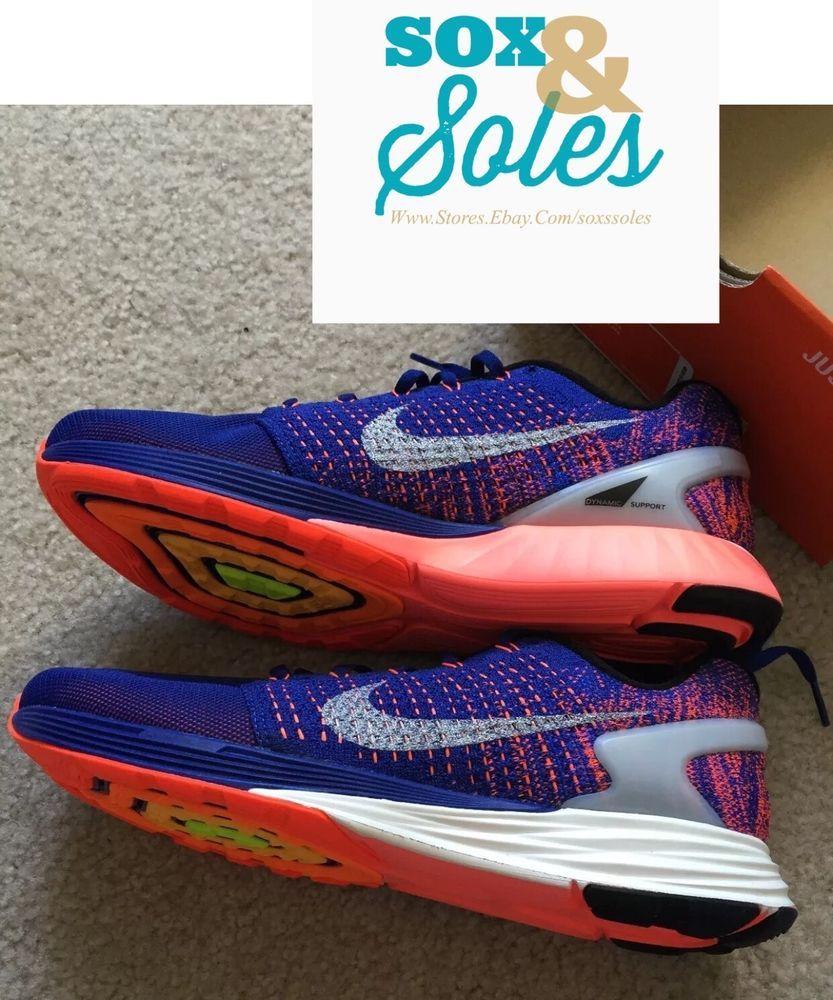 premium selection b4f8d b13fa Nike Lunarglide 7 Flash Multi Color Mens Sz 12 Running Shoe ...