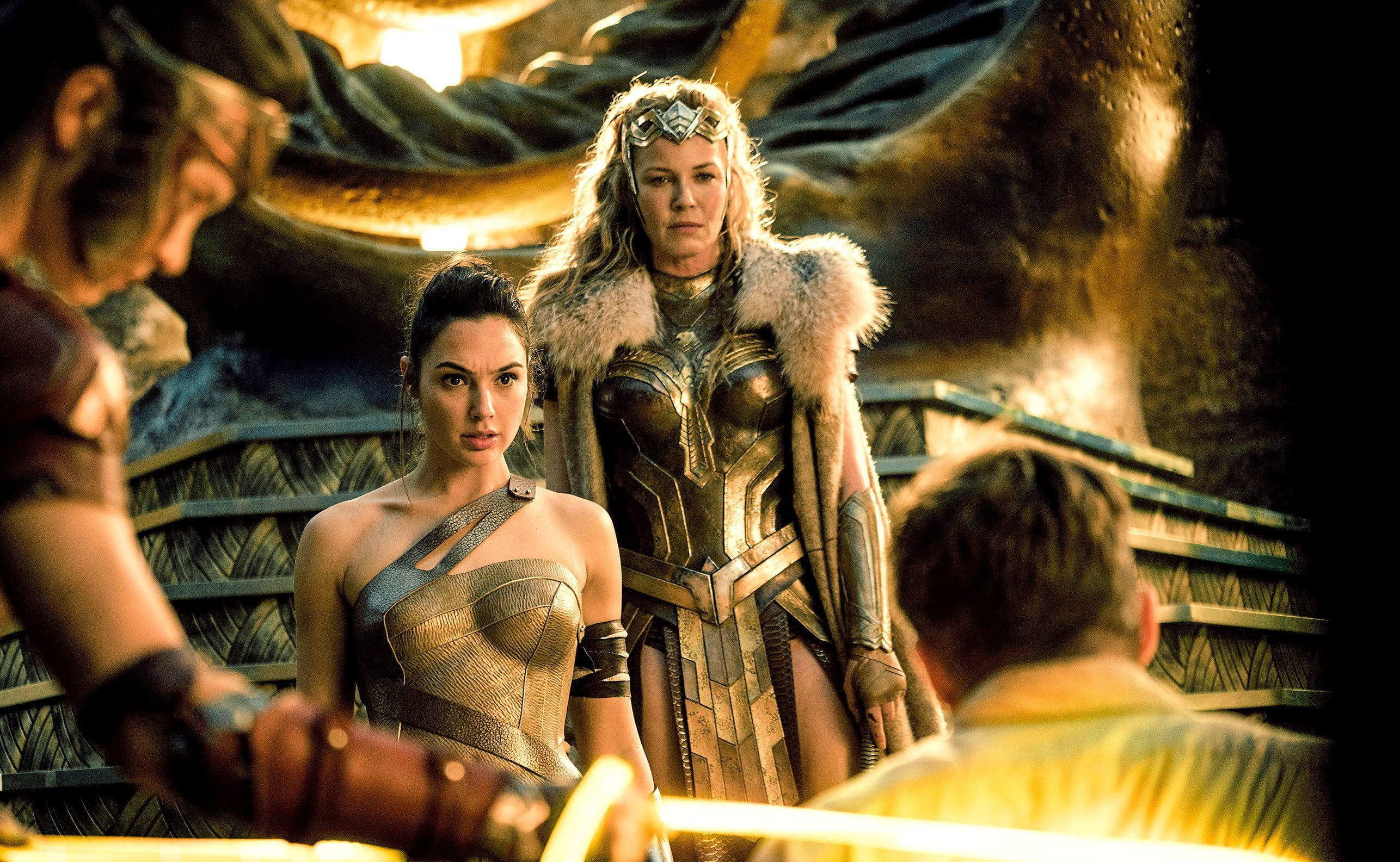 Wonder Woman Gal Gadot Connie Nielsen 2k Wallpaper Hdwallpaper Desktop Wonder Woman Wonder Woman Movie Wonder