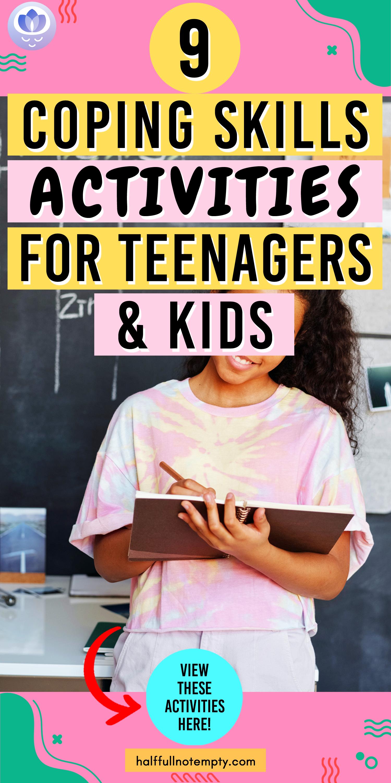 9 Coping Skills Activities For Teenagers Amp Kids