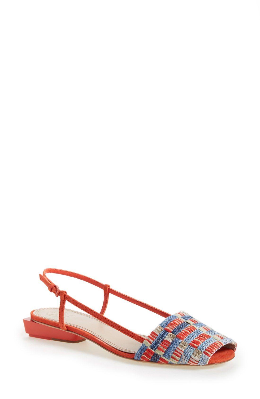 Tory Burch Pietra Peep Toe Sandal Women Shoes In 2019