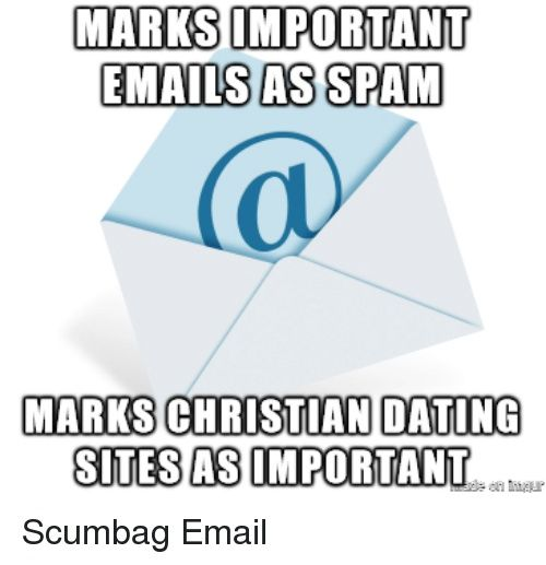 Dating e-mails spam