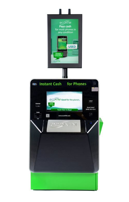 Recycle Mobile Devices Easily for Pay at ecoATM Kiosks - recycle both phones and tablets!