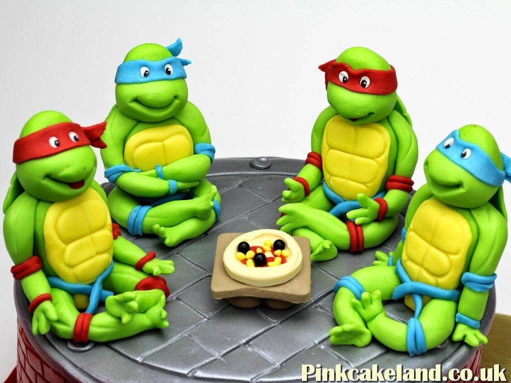 Teenage Mutant Ninja Turtles Cake Toppers London Ninja Turtle Birthday Cake Teenage Mutant Ninja Turtle Cake Ninja Turtle Birthday