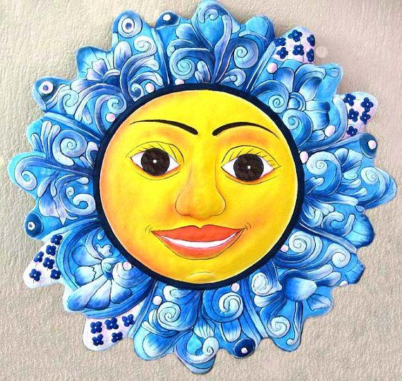 Metal Sun, Garden Art - 24\