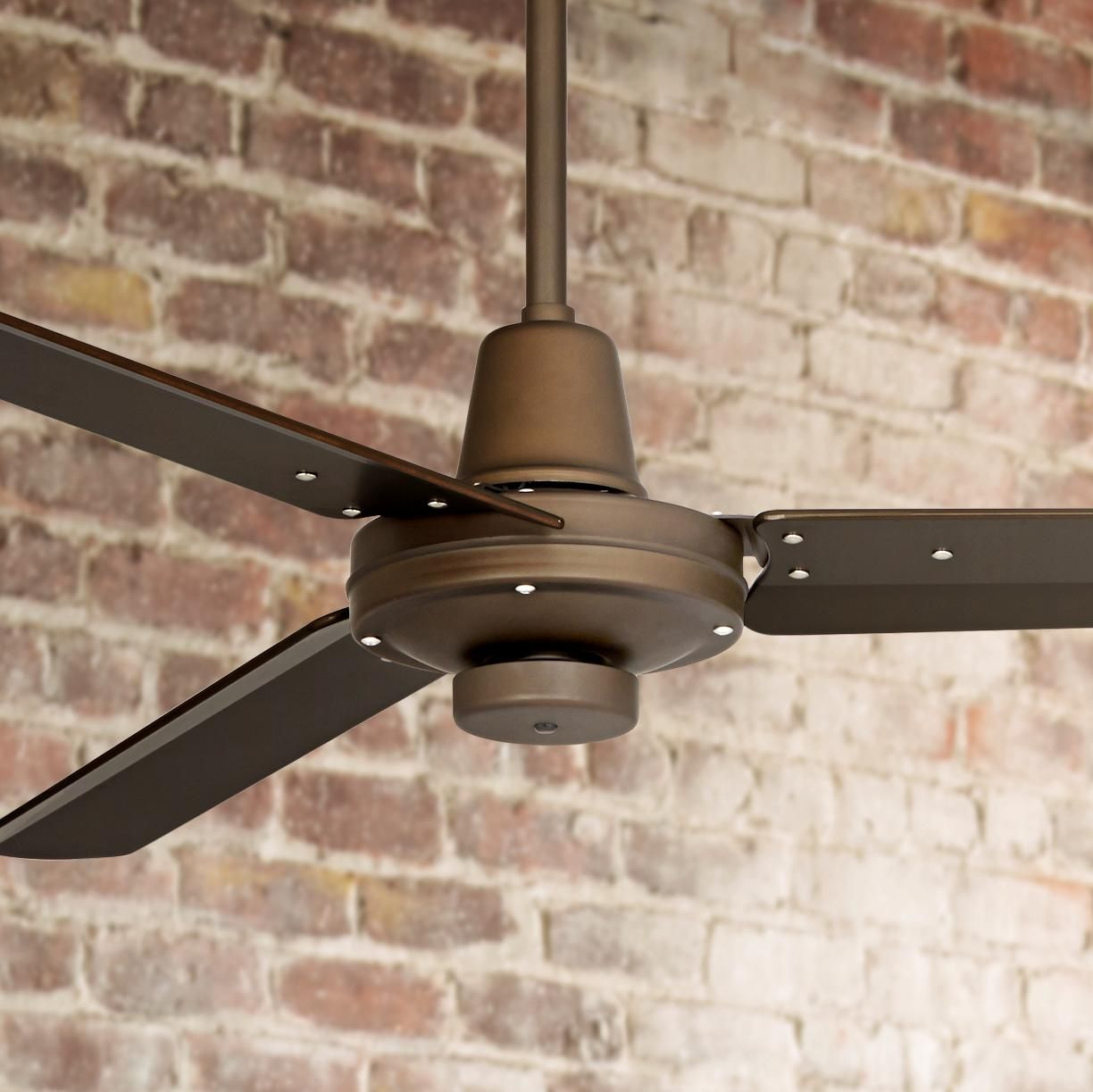 52 Plaza Oil Rubbed Bronze Damp Rated Ceiling Fan 7c840