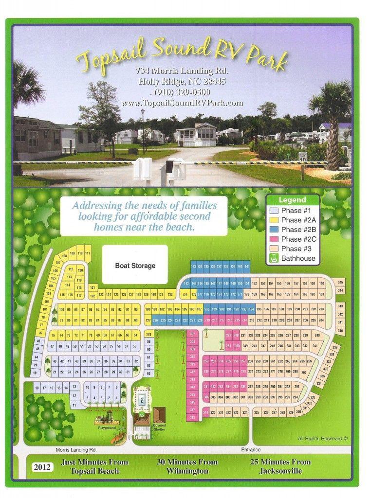 Topsail sound rv park lots blueprints hampstead nc for Rv park blueprints