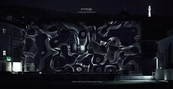 e:merge | Anaglyph 3D A/V Performance